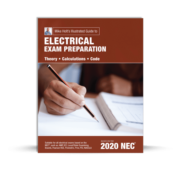 Mike Holt's Electrical exam preparation book cover