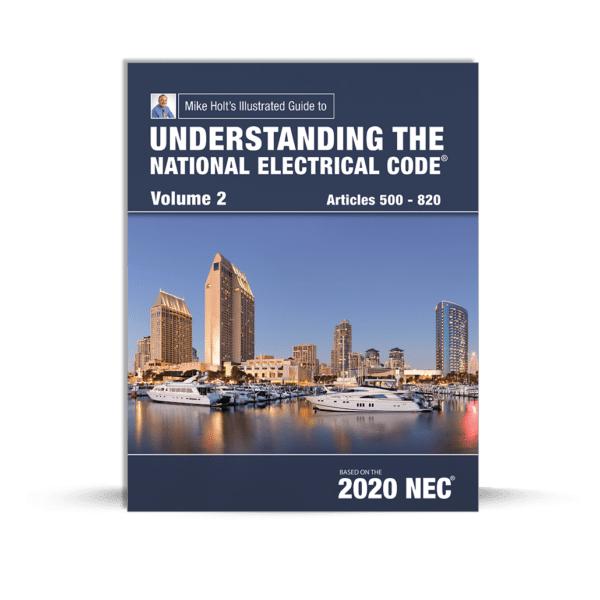 Mike Holt's Understanding the National Electrical Code volume 2 book cover