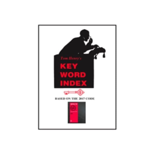 Tom Henry's Key word index book cover